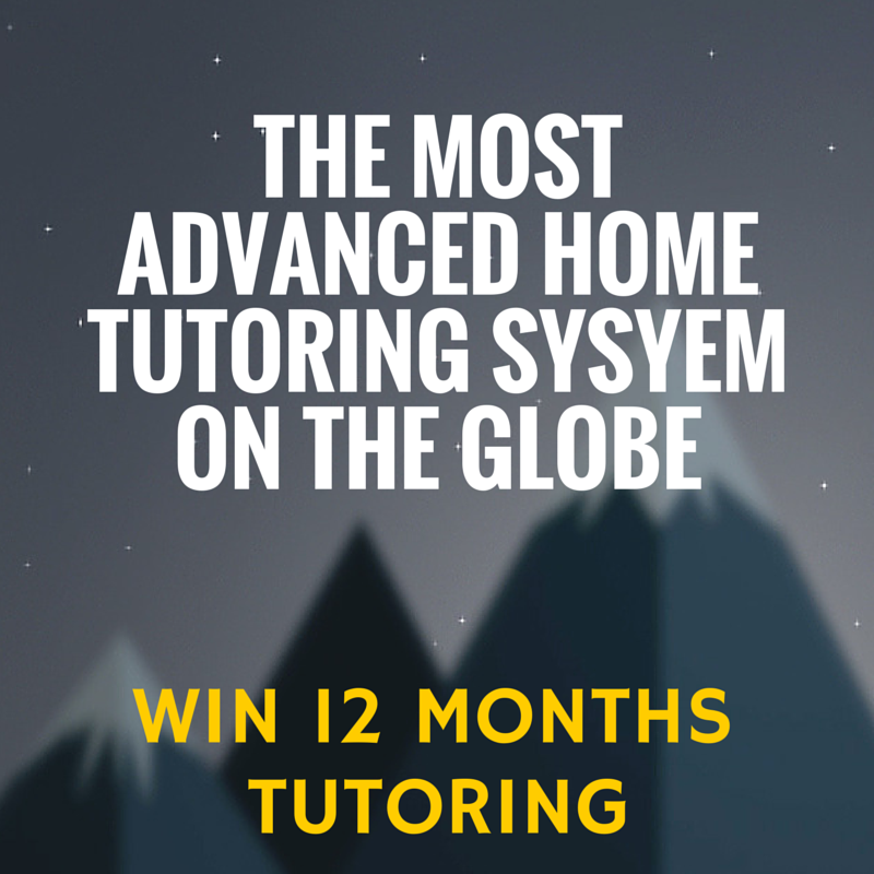 Enter to win 12 months maths and English tutoring