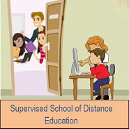 Supervised school of distance education