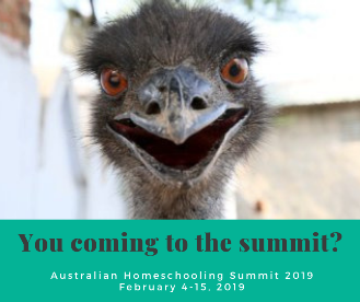 join the educating parent Beverley Paine at one or all three of her workshops at the All Australian Homeschool Summit in February 2019