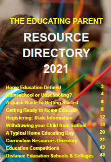 Free download a quick guide to getting started with homeschooling and unschooling by Beverley Paine The Educating Parent in this excellent Resource Directory